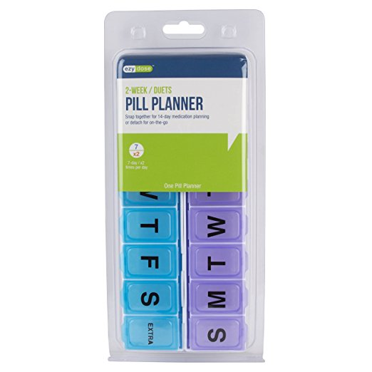 14-Day Pill Reminder – Snap Apart Pill Planner 1
