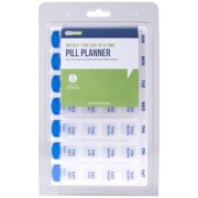 7-Day Multi-Dose Pill Reminder – Weekly One-Day-At-A-Time Pill Planner 1