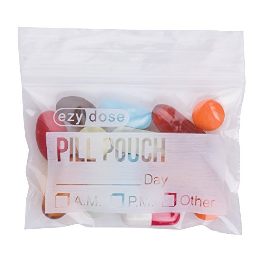 Disposable Pill Pouches 2