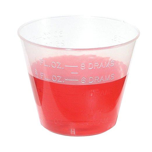 Graduated Plastic Medicine Cups 2