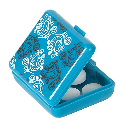 Pockettes Patterned Pillbox (2 count)(Pack of 6) 2