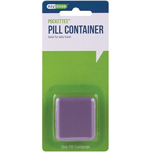 Pockettes Pill Container